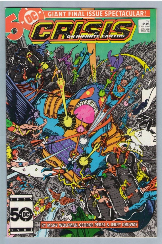 Crisis on Infinite Earths 12 Mar 1986 NM- (9.2)