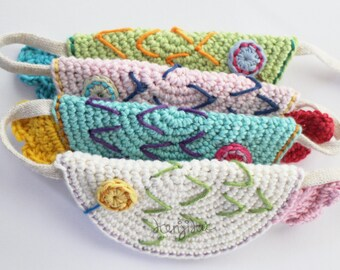 Marching Fishes Bunting,Fish Crochet Pattern,Fish DIY,Fish Bunting Crochet Pattern,Fish Garland,Fish Crochet Garland,Fish Crochet Tutorial