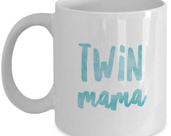 Twin Mama , Tea or Coffee Cup , Mug , Mother of Twins , Gift Present , Christmas Present, Birthday Anniversary gift