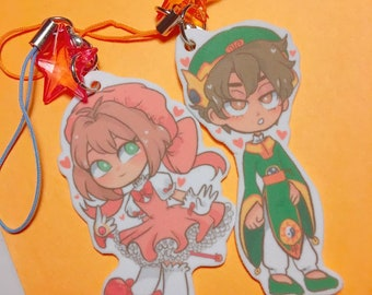 Cardcaptor Sakura and Shaoran Lee Charms