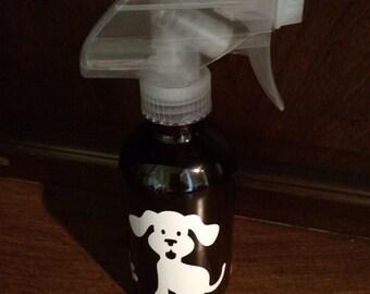 Spray Bottle - glass - Essential Oils - Doggy Deodorizer spray