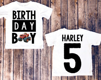 Blaze birthday shirt, blaze and the monster machines birthday, blaze birthday party, blaze party, monster machines shirt, birthday boy shirt