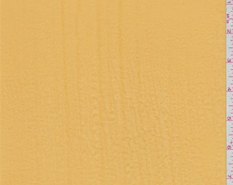 Mustard Gold Polyester Lawn, Fabric By The Yard