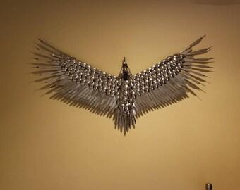 Handmade Stainless Steel Eagle