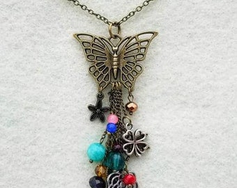 Butterfly With Dangles