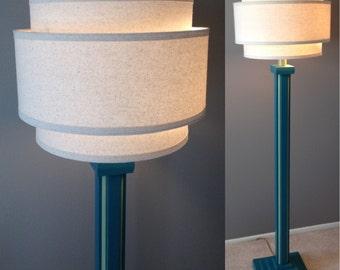 Wood floor lamp | Etsy
