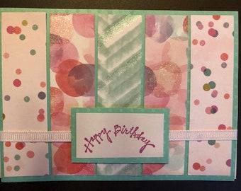 Pastel Birthday Greetings