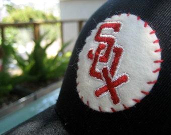 Chicago White Sox Ballcap with 1950's Era Vintage Felt Patch