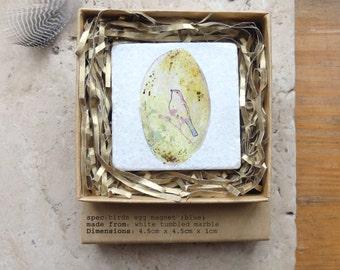 Easter eggs etsy uk easter gift birds egg magnet easter egg magnet easter keepsake kitchen decor negle Choice Image
