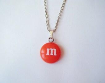 ♥ ♥ M pendant & me orange s