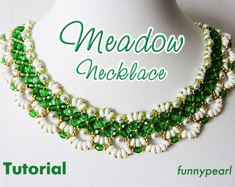 Necklace Meadow. Tutorial PDF