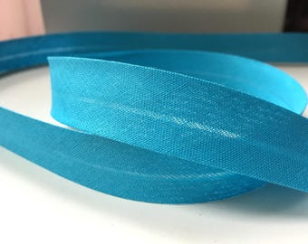 Plain cotton bias blue 20 mm - Fillawant by DMC collar. 2265