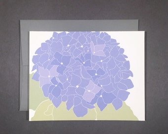 Hydrangea Single Card