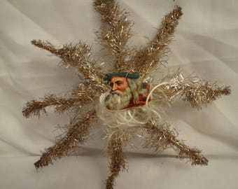 Victorian Wire Christmas Ornament Antique