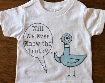 Widespread Panic Shirt-Pigeons-Kids/Youth Sizes 2T 3T 4T 5/6T Youth XS S M L XL