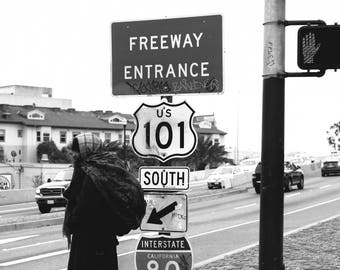 Photographie Freeway 101 - San Francisco