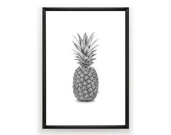 Pineapple Print, Tropical Printable, Pineapple Art, Pineapple Photo, Tropical Art, Tropical Print, Pineapple Wall Art, Digital Download,