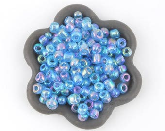 20grs light blue seed beads 4 x 3.5 mm (28)