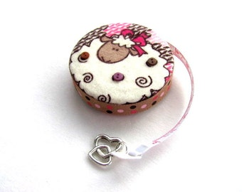 Tape Measure with Sheep Hearts Measuring Tape