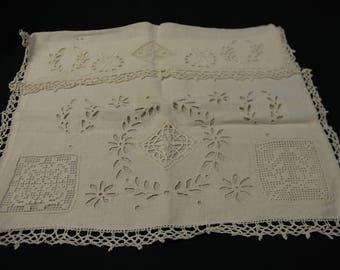 39/30 cm linen lingerie bag
