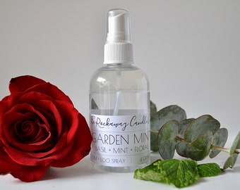 Garden Mint Room Spray, Bathroom Spray, Linen Spray, Body Spray, Handmade, Organic, Wholesale, Bulk Order