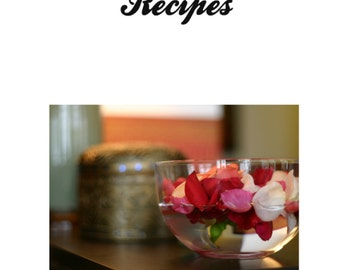 504 Bath and Beauty Recipes Instant Digital Download PDF