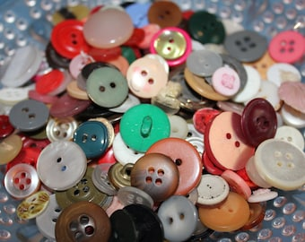 Mixed Lot of Buttons Including Some Lovely Vintage Treasures