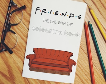 "FRIENDS - ""The One With The Colouring Book"""