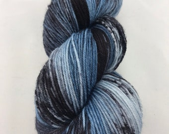 Dark Denim - Hand Dyed Yarn *DYED TO ORDER*