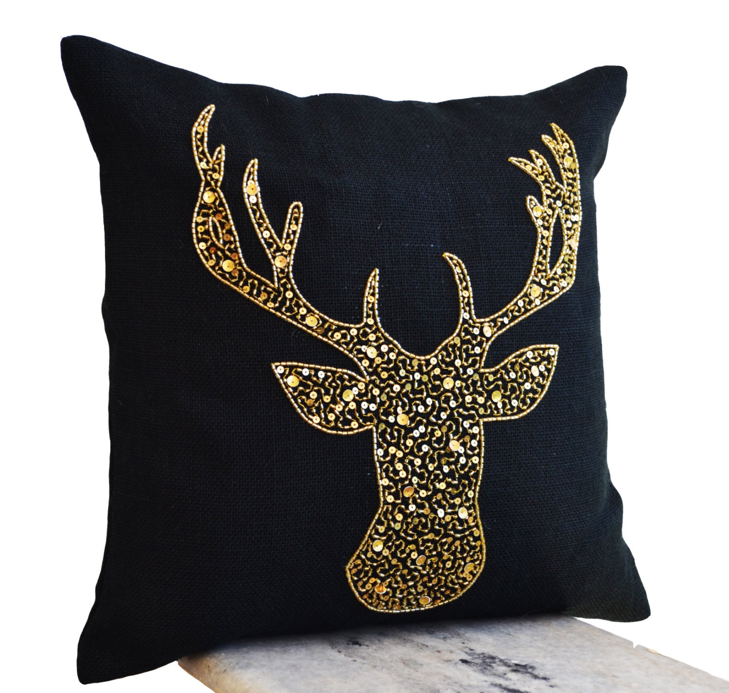 deer similar s like felt throw and items threshold pillow white pillows