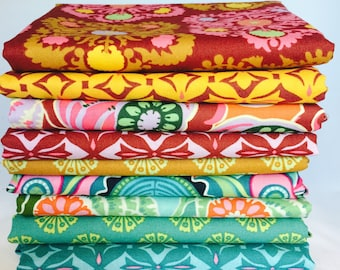 Amy Butler, Dreamweaver, 1 yard bundle, 7 pieces