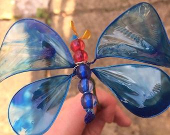Cobalt - Butterfly Creature Feature - Handmade Butterfly Bouquet or Ceiling Ornament