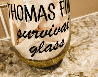Thomas Fire Survival Glass