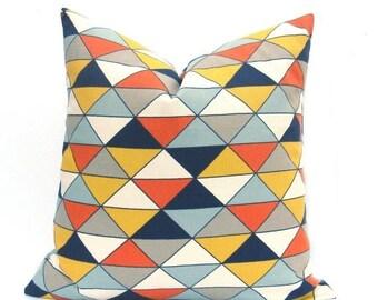 15% Off Sale PILLOWS,Decorative Pillow Cover, Cushion Covers, Designer Pillow,  Blue - Pillow Sham - Yellow Gray Pillow - Modern Pillow - Ac