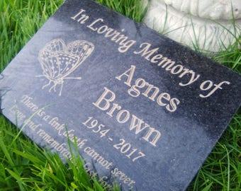 Memorial marker, laser engraved Grave Plaque, Headstone,grave marker,memorial plaque,grave marker,engraved memorial, laser engraved memorial