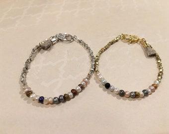 Pearl Birthstone Bracelet