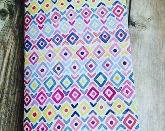 DIAMONDS Watercolor Pattern Traveler's Notebook Insert - Available in 8 sizes and 10 patterns