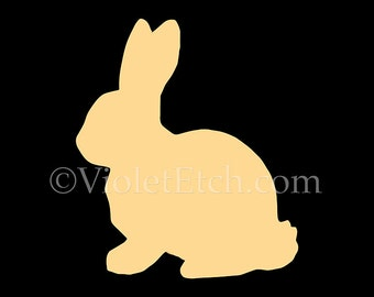Bunny Decal, Rabbit Decal, Easter Decorating, Yeti Cup Decal-Bunny Sticker