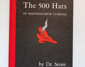 Dr. Seuss The 500 Hats of Bartholomew Cubbins 1965
