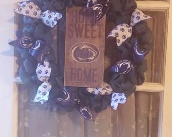 Penn state wreath