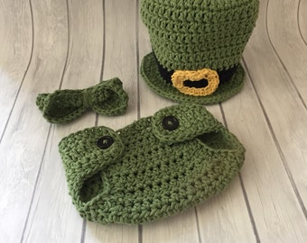 leprechaun hat, st patricks day, baby leprechaun hat, st patricks day hat, irish hat, leprechaun costume, photo prop, green baby hat
