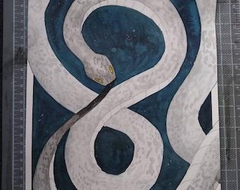 Jörmungandr (World Snake of Norse Mythology)