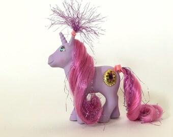 Vintage My Little Pony Princess Misty, G1 Princess Pony