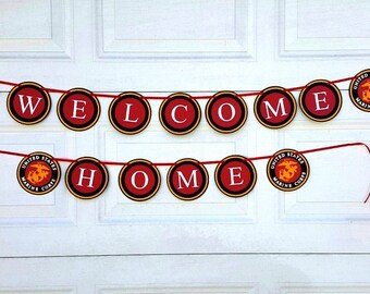 Military Welcome Home Banner, SKU# BNMY0103, Welcome Home, Armed Forces Banner