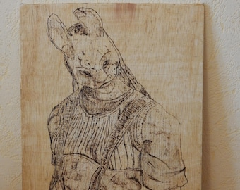 Pyrography Hunter Dead By Daylight