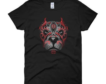 Women's Tribal Pitbull T-Shirt