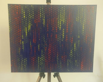 "Original 16""x20"" oil painting , abstract wall art , digital art, abstract art, contemporary art wall decor modern art canvas oil painting"