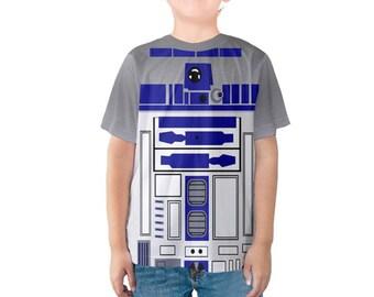 Kid's R2D2 Star Wars Inspired Shirt