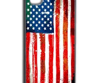 Phone case cell flag USA