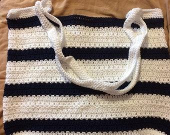 Bag xl cotton crocheted sailor